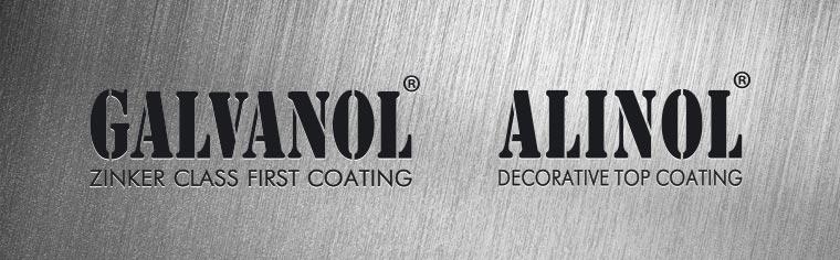Документы на составы Galvanol, Alinol и Allisol