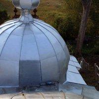 Восстановление на куполах цинкового покрытия